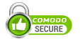 This site is secured by Comodo for your protection